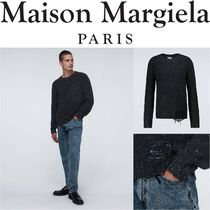 Maison Margiela★Distressed knitted sweater★関税込