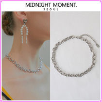 【MIDNIGHT MOMENT.】two rope necklace(choker)〜ネックレス