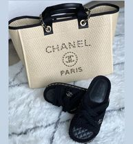 最新作★2021S/S CHANEL★DEAUVILLE in Beige Straw