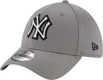 New Era New York Yankees Gray 39Thirty Clubhouse Stretch Fit