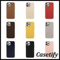 ■Casetify■名前入りiPhoneレザーケース 新機種対応
