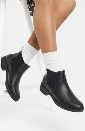 ASOS◆New Look faux croc detail chelsea boot ◆送料込