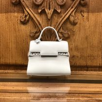 DELVAUX(デルボー) ハンドバッグ 【DELVAUX】Tempete Small☆バニティミラー付きハンドバッグ