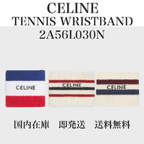 【即発】【国内発送】★CELINE★TENNIS WRISTBAND IN COTTON★