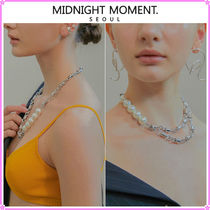 【MIDNIGHT MOMENT.】column necklace〜ネックレス★4種類の演出
