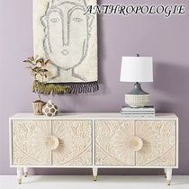 お洒落★ANTHROPOLOGIE★Handcarved Gulliver Media Console