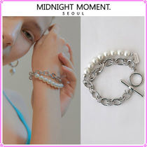 【MIDNIGHT MOMENT.】two rope bracelet〜トグル式ブレスレット