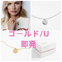 STERLING SILVER NECKLACE WITH MEDALLION/ゴールド・シルバー