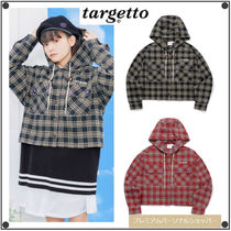 TARGETTO SEOULのCHECK HOODIE SHIRTS 全2色