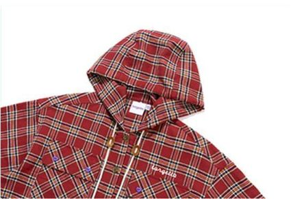 TARGETTO SEOUL ブラウス・シャツ TARGETTO SEOULのCHECK HOODIE SHIRTS 全2色(9)