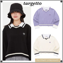 TARGETTO SEOULのCOLLAR V NECK KNIT 全3色