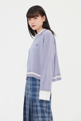 TARGETTO SEOUL ニット・セーター TARGETTO SEOULのCOLLAR V NECK KNIT 全3色(13)