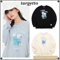 TARGETTO SEOULのCLOUD KITTEN SWEAT SHIRT 全3色