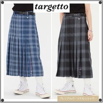 TARGETTO SEOULのLONG PLEATS SKIRT 全2色