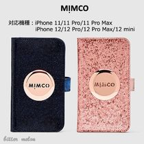 【MIMCO ミムコ】キラキラ SHIMMER FLIP CASE for iPhone