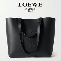 ∞∞ LOEWE ∞∞ Anagram medium textured-leather トート☆