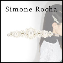 【関税/送料込み】SIMONE ROCHA / LARGE FLOWER HAIR CLIP