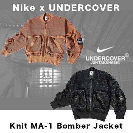UNDERCOVER ブルゾン 【Nike x UNDERCOVER 】 Knit MA-1 Bomber Jacket