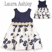 【Laura Ashley】 Embroidered Floral Dress ワンピース