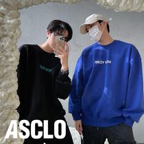 ASCLO(エジュクロ) スウェット・トレーナー Never Dumble Washing Heavy New York Sweat Shirt (3color)