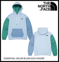 【THE NORTH FACE】ESSENTIAL COLOR BLOCK ECO HOODIE