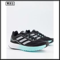adidas Running SL20 2 trainers in black and white