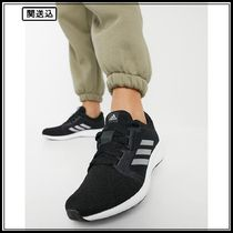 adidas Running Edge Lux 4 sneakers in black and white