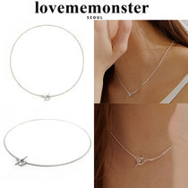 ★人氣★LOVE ME MONSTER★Plain Toggle Necklace