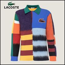 ★LACOSTE★長袖 ポロ with Patch Logo【送料無料】