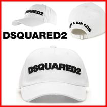 ★D SQUARED2★ディースクエアードロゴキャップ☆大人気☆