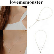 LOVE ME MONSTER(ラブミーモンスター) ネックレス・ペンダント ★人氣★LOVE ME MONSTER★Pearl & Toggle Necklace