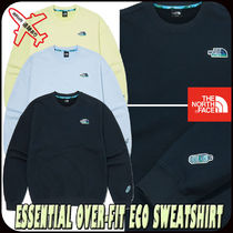 【THE NORTH FACE】ESSENTIAL OVER-FIT ECO SWEATSHIRT★男女