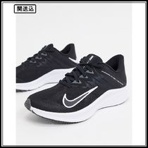 Nike Running Quest 3 trainers in black