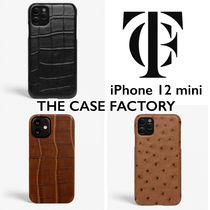 THE CASE FACTORY クロコ   iPhone 12mini スマホケース