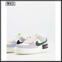 Nike Air Force 1 Shadow in pale blue and mint multi