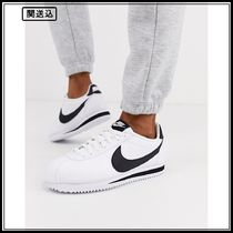 Nike White And Black Classic Cortez Leather Trainers