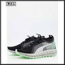 Puma Running Calibrate Runner trainers in black and pink