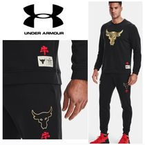 UA x Project Rock Terry Crew  UNDER ARMOUR CNY