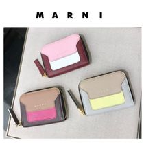◆マルニ直営店◆'Vanitosi' compact zip around wallet◆財布◆