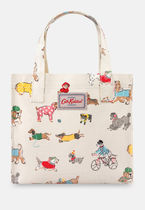 Cath Kidston(キャスキッドソン) トートバッグ 【Cath Kidston】Small Park Dogs柄 トートバッグ
