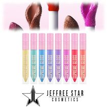 JEFFREE STAR COSMETICS♢Supreme Gloss Rainbow Bundle