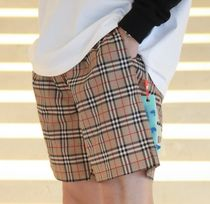 Burberry☆21SS GUILDES ヴィンテージ チェック スイムパンツ