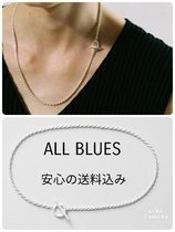 All Blues(オールブルース) ネックレス・チョーカー ALL BLUES 国内発送 完売前に Silver Rope necklace ロープ