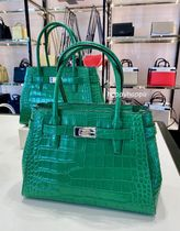 【kate spade】luciaクロコ型押しミディアムサッチェル☆2WAY