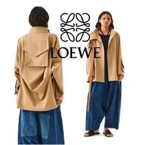 【即完売】LOEWE Patched Pocket Military Parka コート
