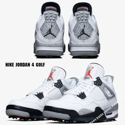 Nike メンズ・シューズ NIKE★JORDAN 4 GOLF★WHITE/FIRE RED/TECH GREY/BLACK
