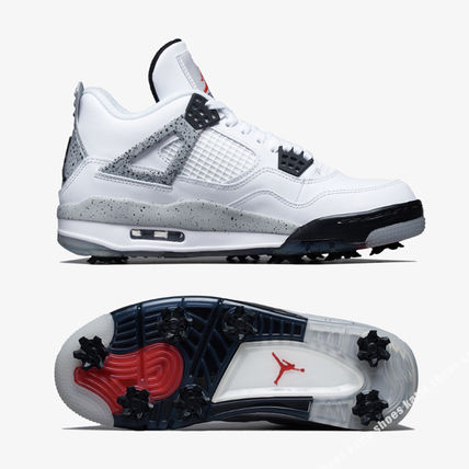 Nike メンズ・シューズ NIKE★JORDAN 4 GOLF★WHITE/FIRE RED/TECH GREY/BLACK(3)
