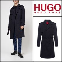Hugo Boss★Trench Slim Fit en laine★HUGOトレンチコート