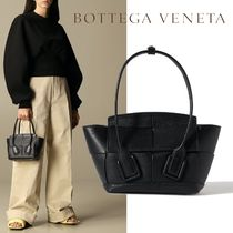 ∞∞ BOTTEGA VENETA ∞∞ Arco mini textured-leather バッグ☆