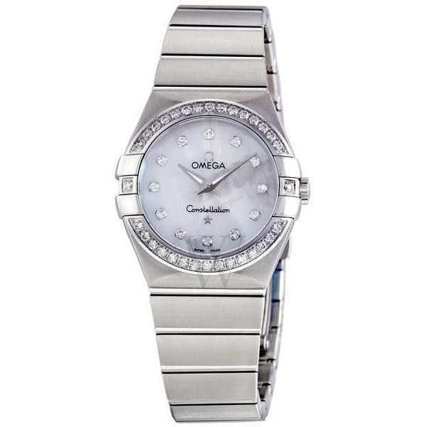 Omega Women's Constellation Stainless Mother of Pearl Dial (OMEGA/アナログ腕時計) 64527131